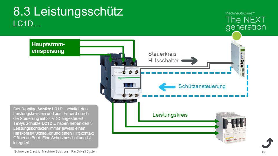 Ausgezeichnet 3 Poliger Schütz Schaltplan Galerie - Elektrische ...