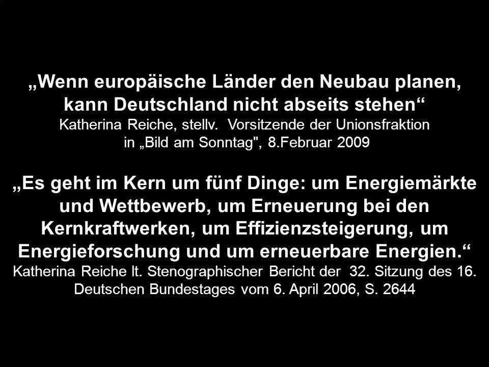 """""""Wenn europäische Länder den Neubau planen, kann Deutschland nicht abseits stehen"""