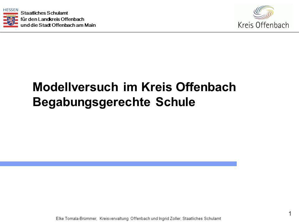 Modellversuch im Kreis Offenbach
