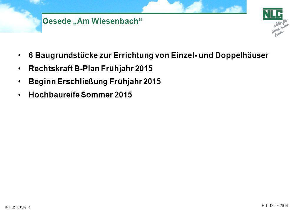 "Oesede ""Am Wiesenbach"