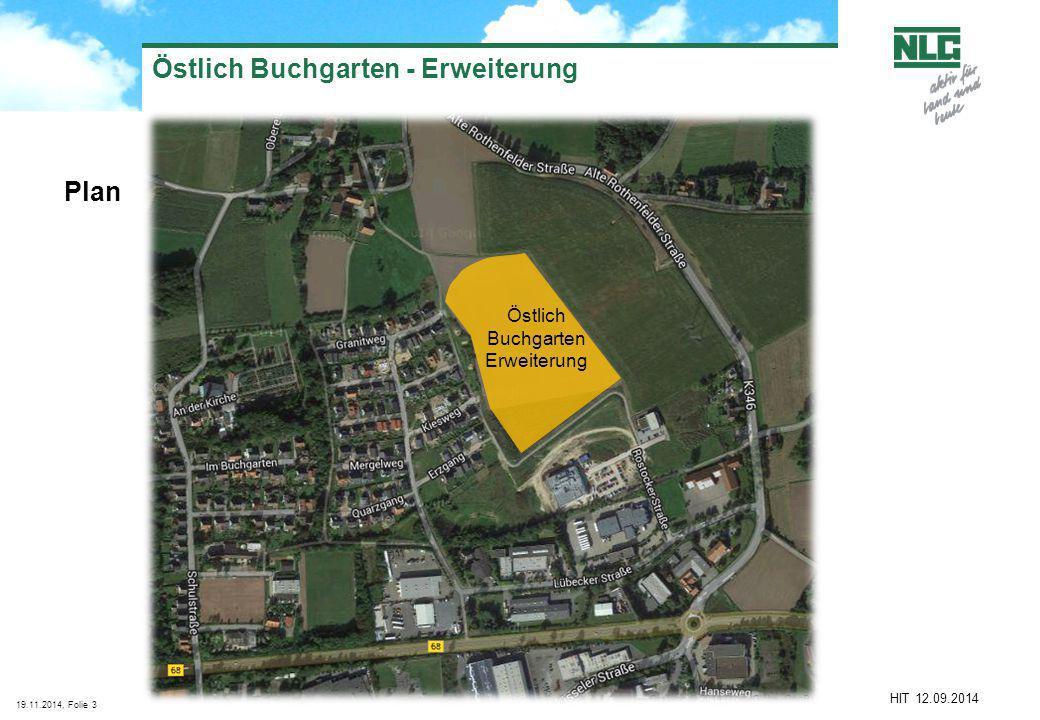 Östlich Buchgarten - Erweiterung
