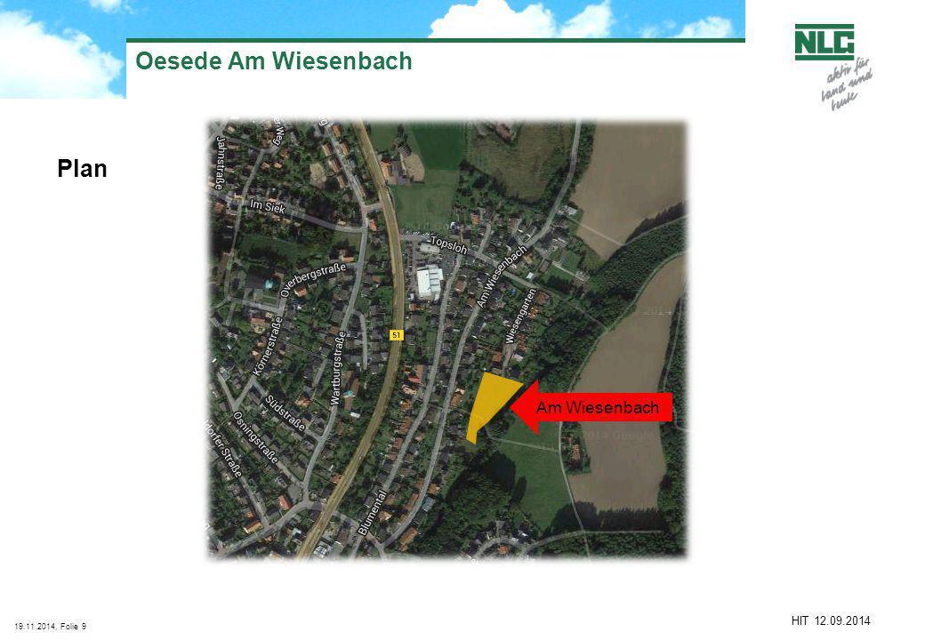 Oesede Am Wiesenbach Plan Am Wiesenbach HIT 12.09.2014