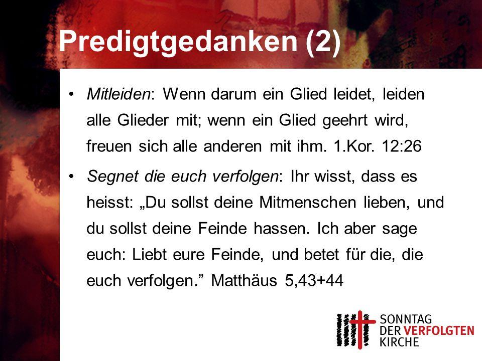 Predigtgedanken (2)