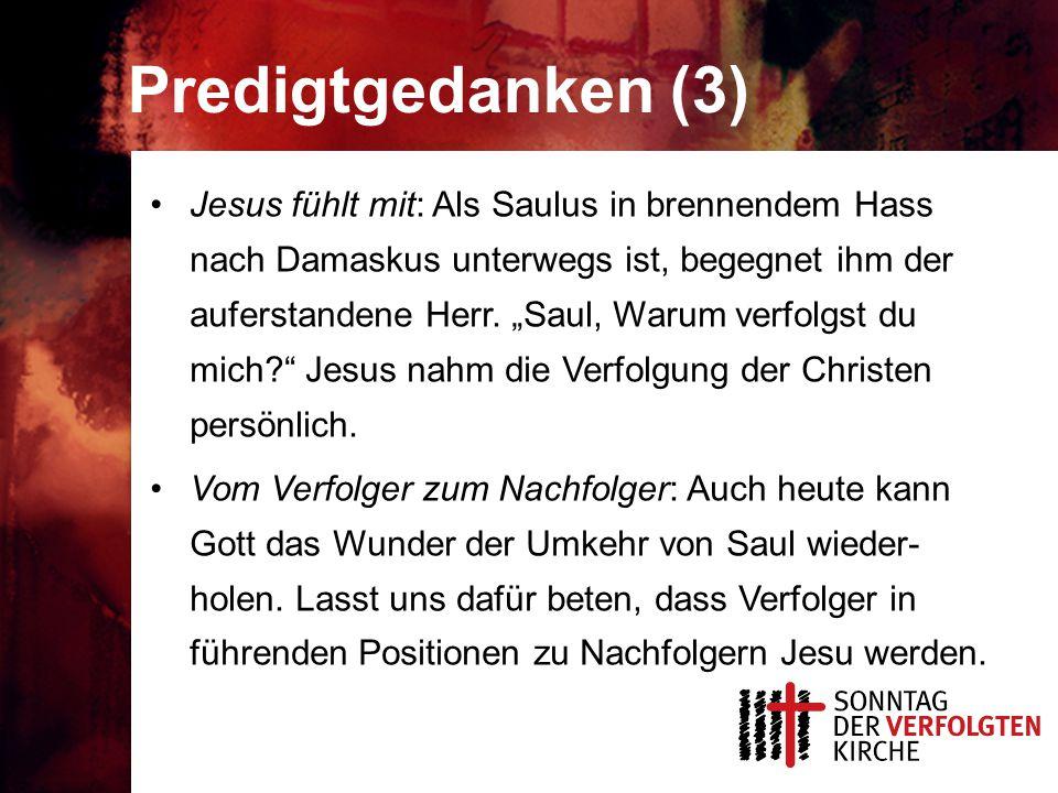 Predigtgedanken (3)