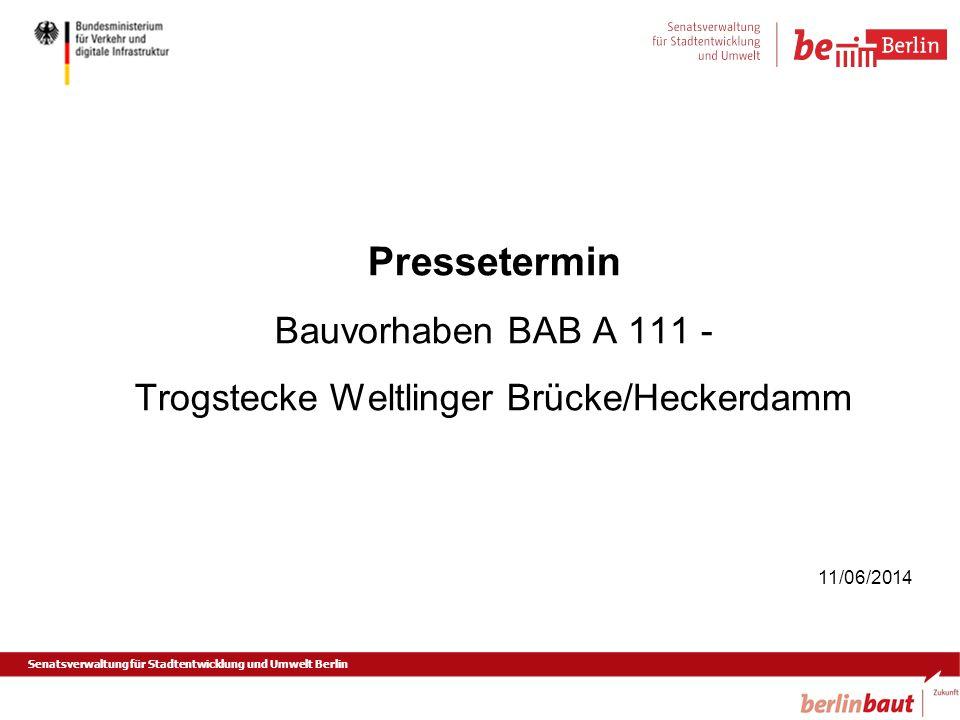 Trogstecke Weltlinger Brücke/Heckerdamm