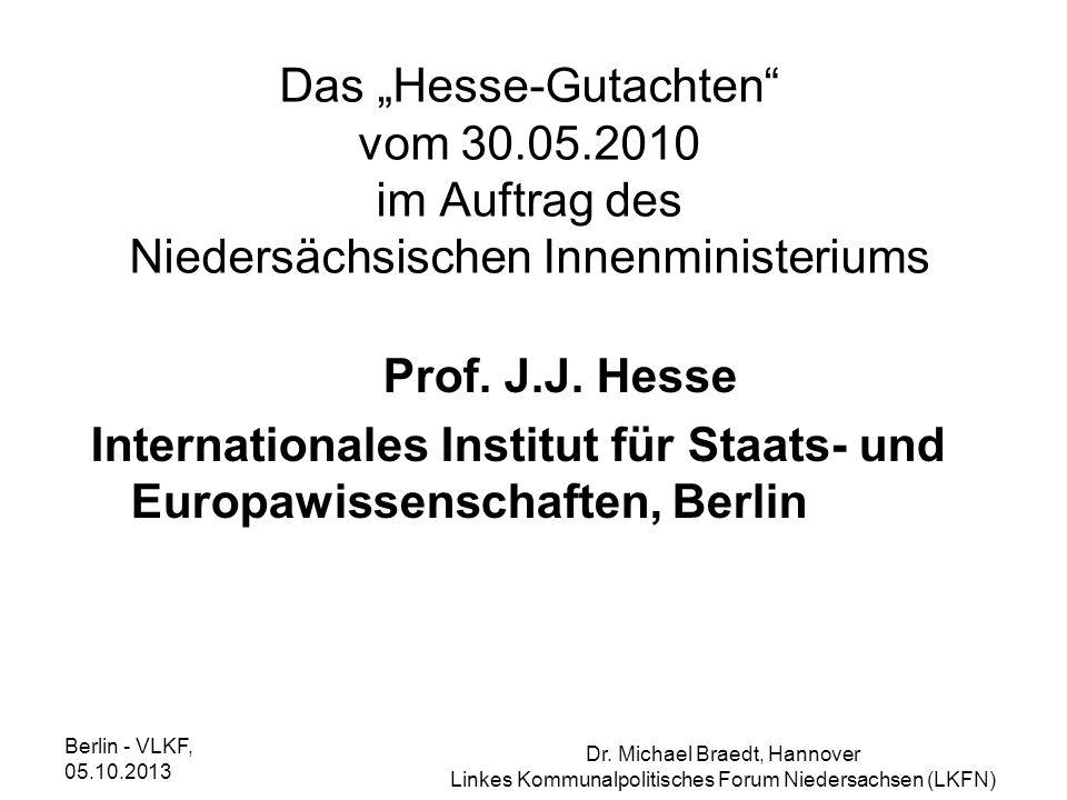 Internationales Institut für Staats- und Europawissenschaften, Berlin