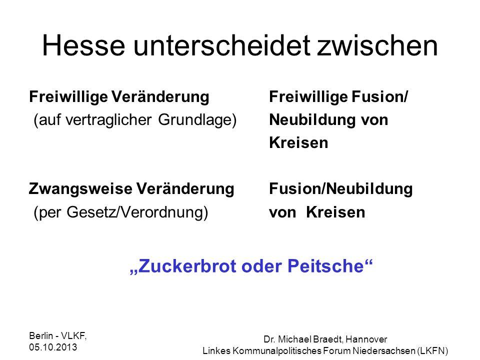 Hesse unterscheidet zwischen