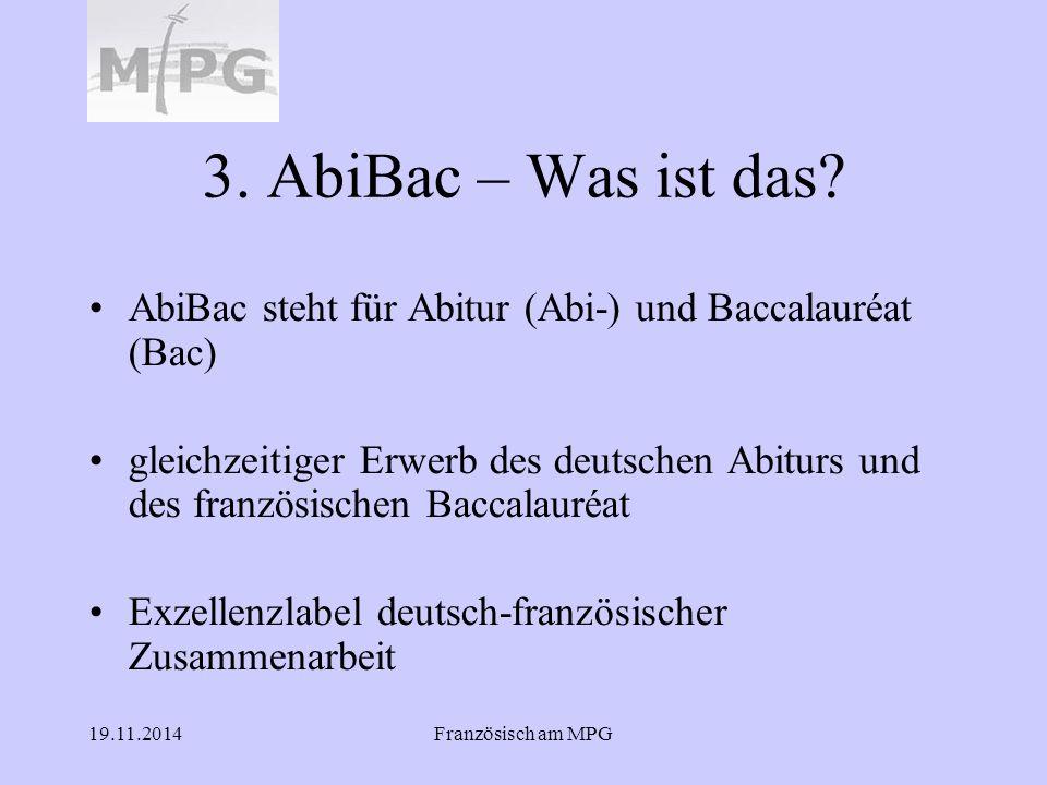 3. AbiBac – Was ist das AbiBac steht für Abitur (Abi-) und Baccalauréat (Bac)