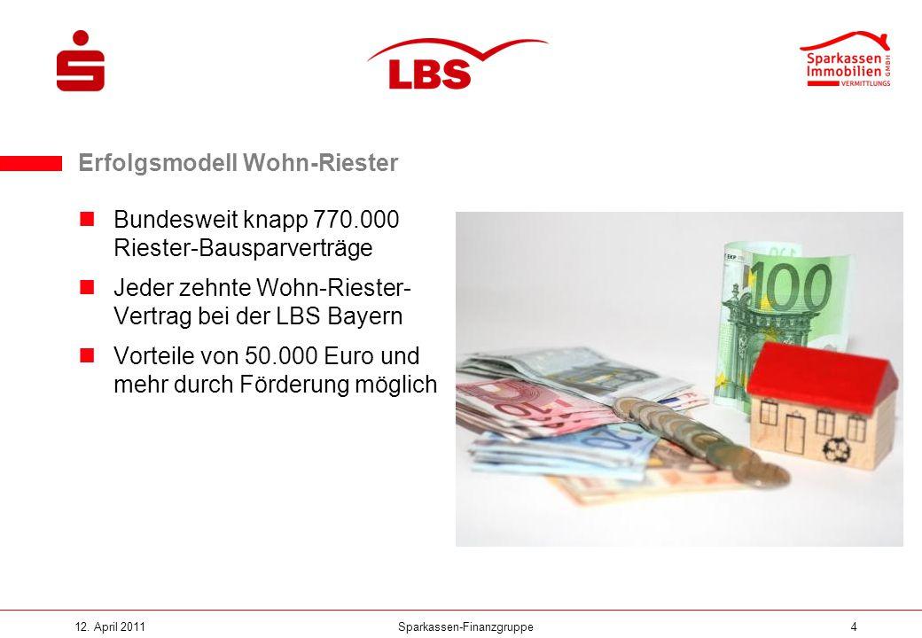 Erfolgsmodell Wohn-Riester