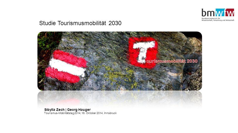 Studie Tourismusmobilität 2030