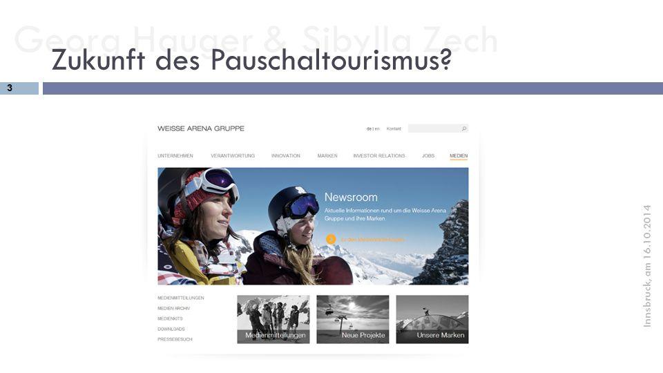 Zukunft des Pauschaltourismus