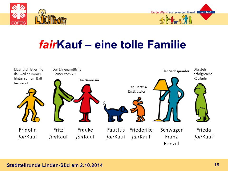 fairKauf – eine tolle Familie