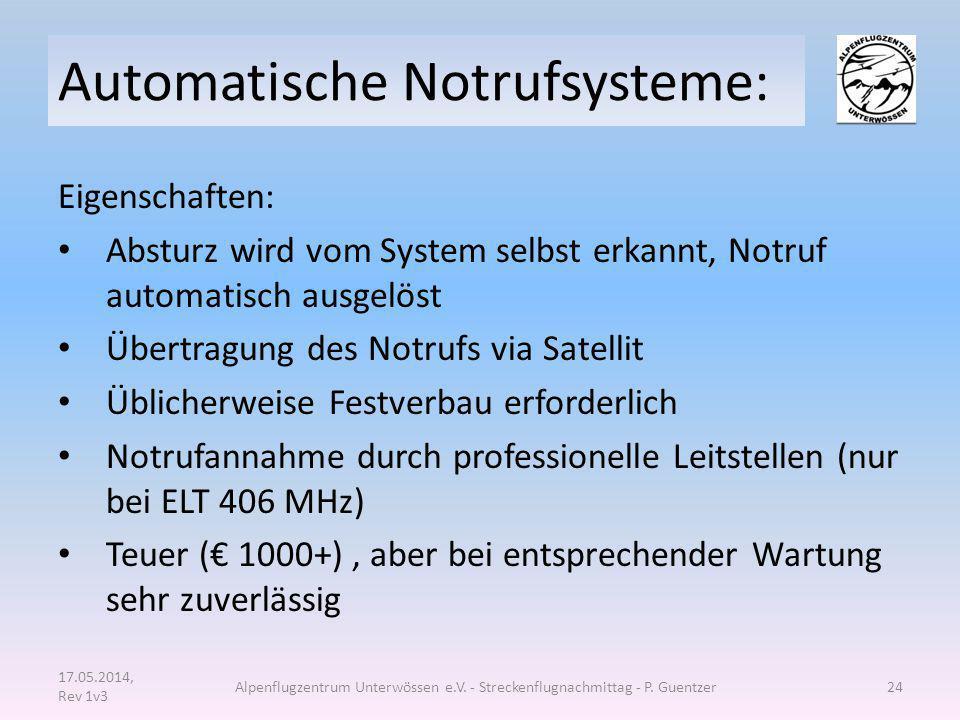 Automatische Notrufsysteme: