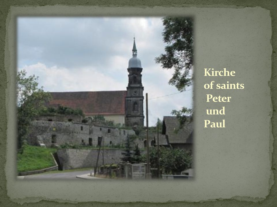 Kirche of saints Peter und Paul