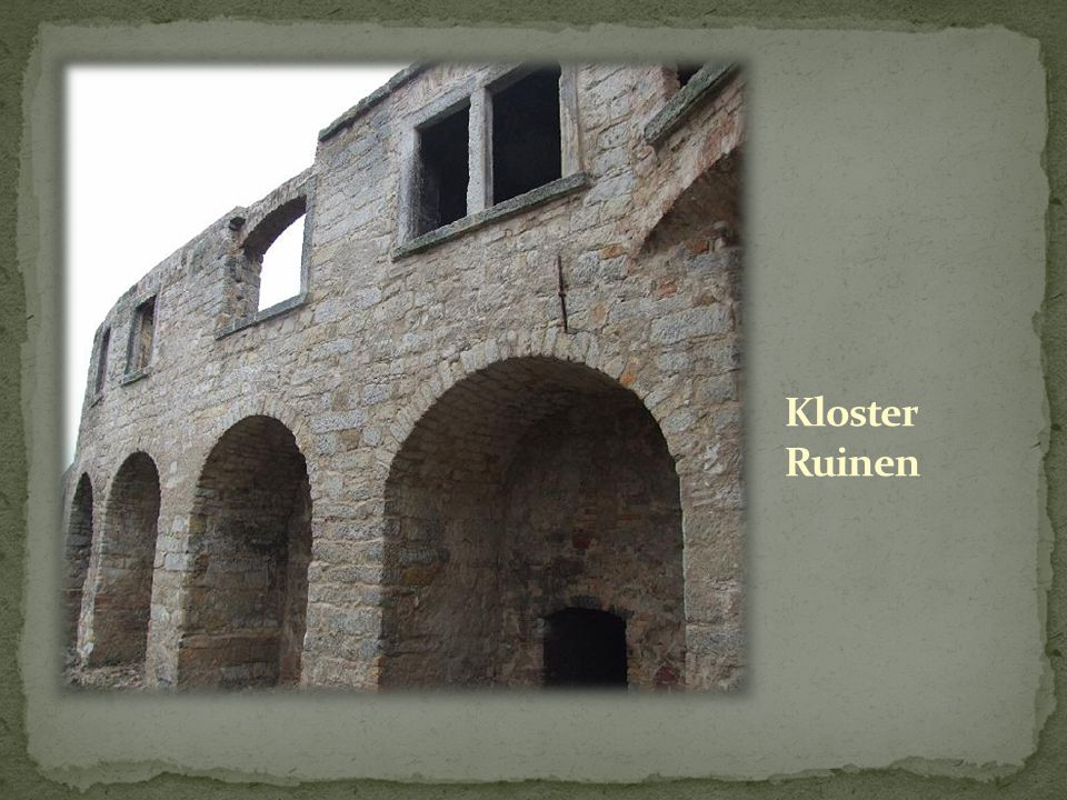 Kloster Ruinen