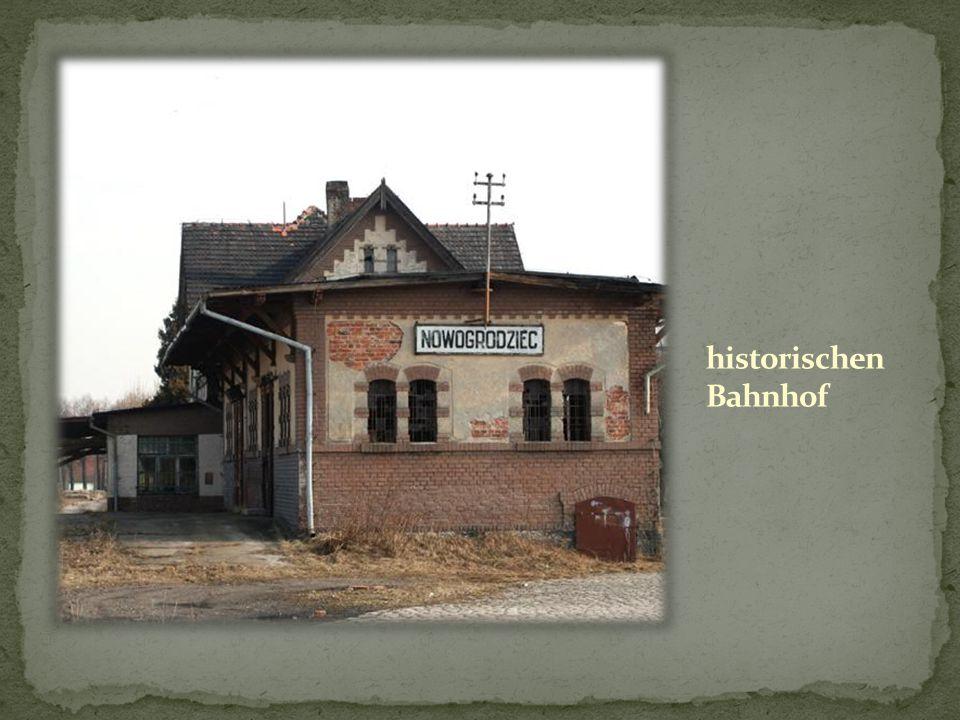 historischen Bahnhof