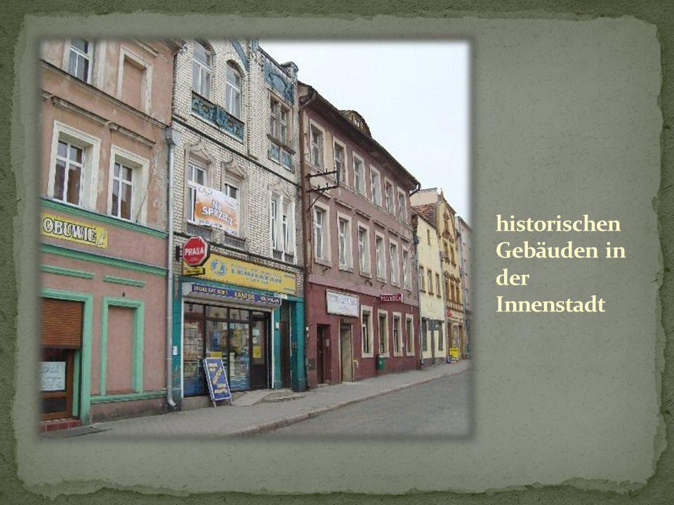 historischen Gebäuden in der Innenstadt