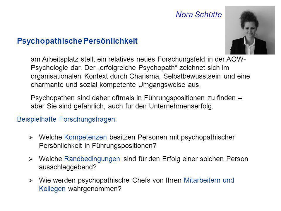 Psychopathische Persönlichkeit