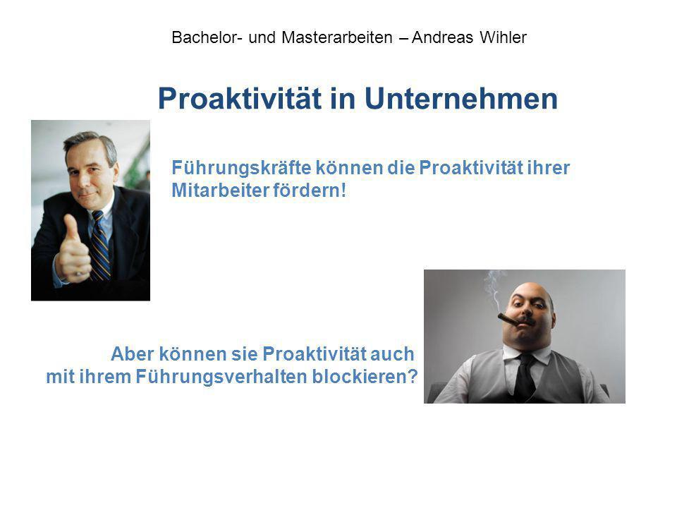 Proaktivität in Unternehmen