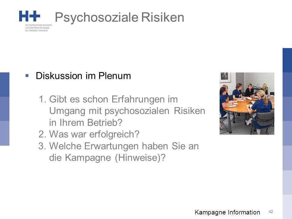 Psychosoziale Risiken