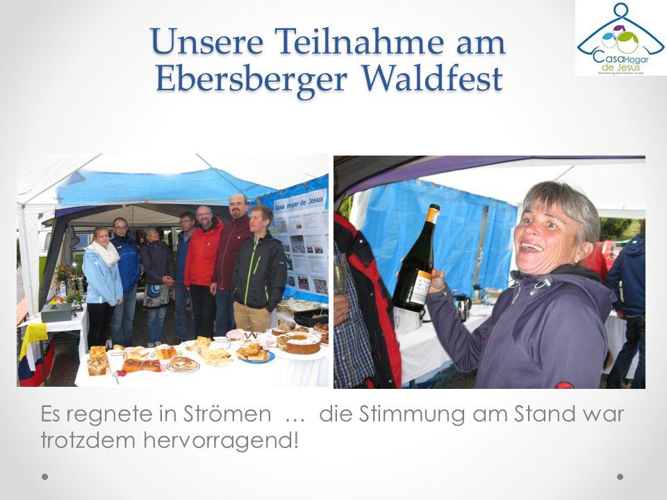 Unsere Teilnahme am Ebersberger Waldfest