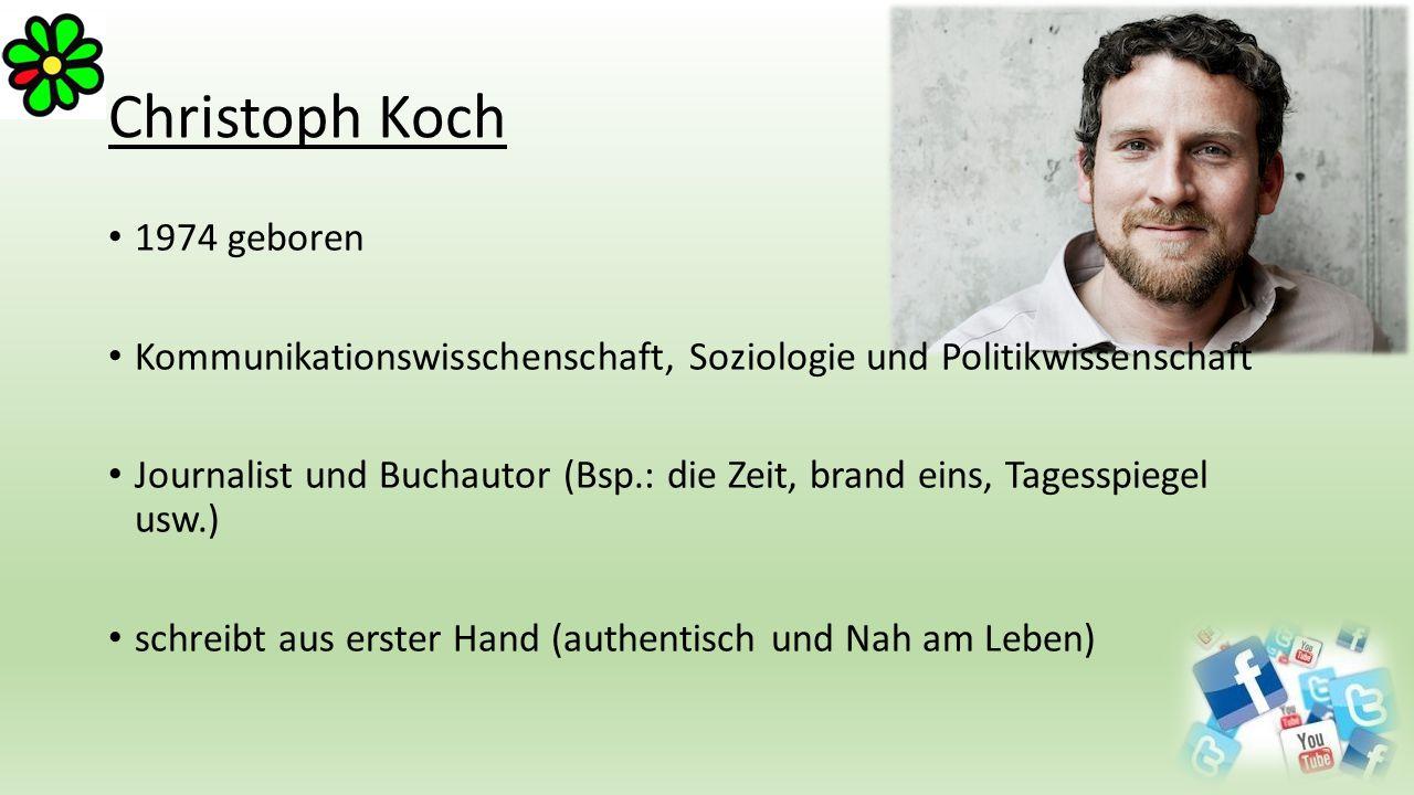 Christoph Koch 1974 geboren