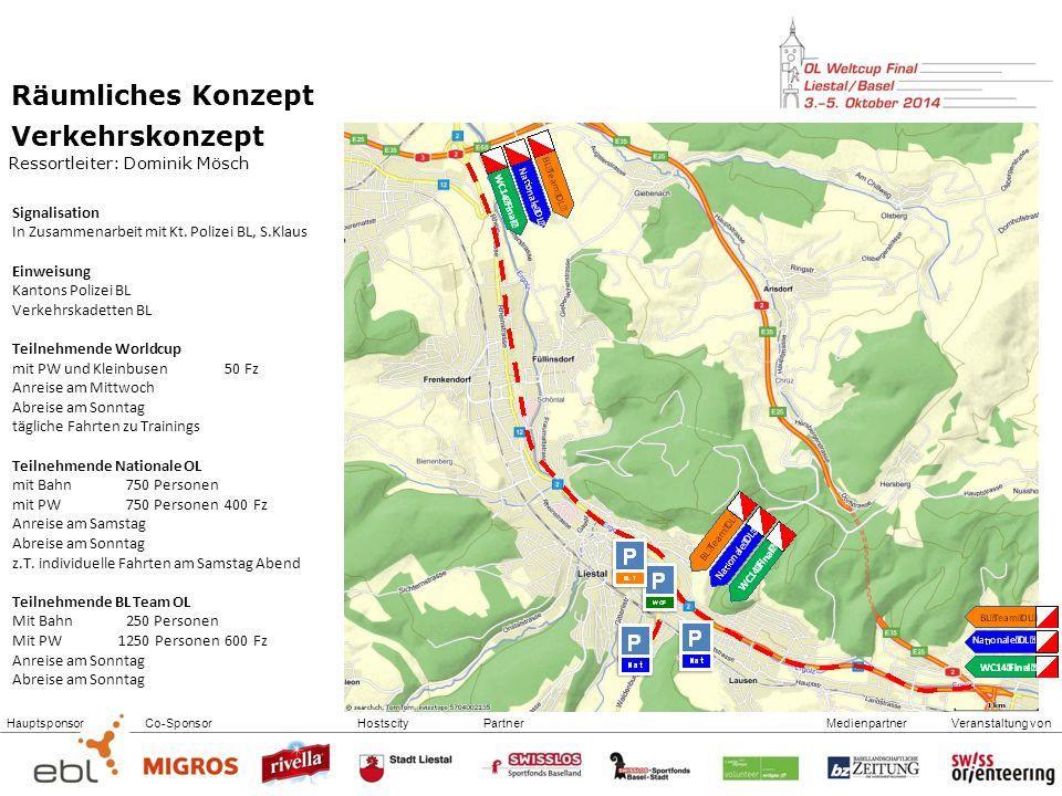 Räumliches Konzept Verkehrskonzept Ressortleiter: Dominik Mösch