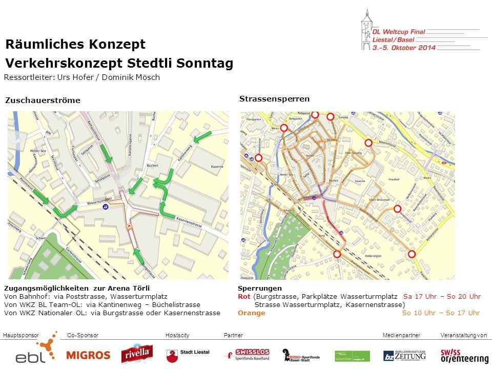 Verkehrskonzept Stedtli Sonntag