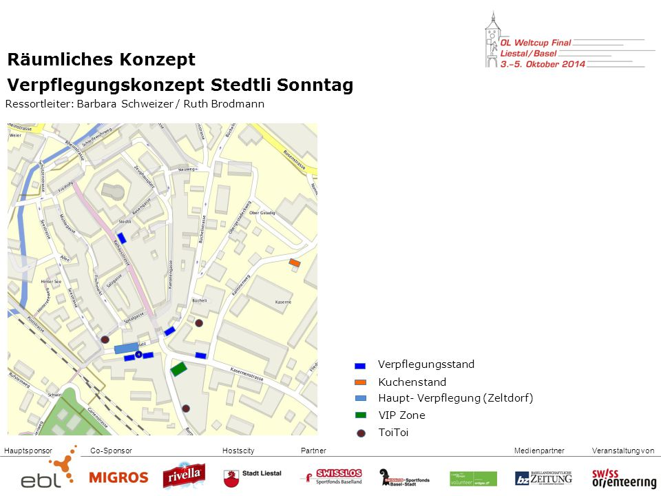 Verpflegungskonzept Stedtli Sonntag