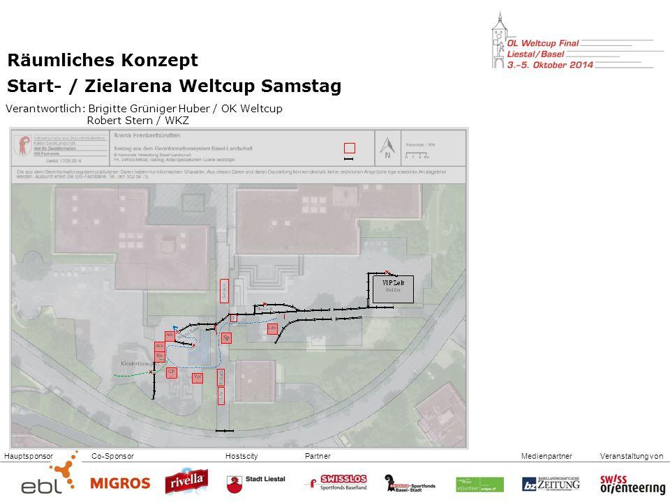 Start- / Zielarena Weltcup Samstag