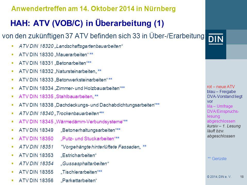 HAH: ATV (VOB/C) in Überarbeitung (1)
