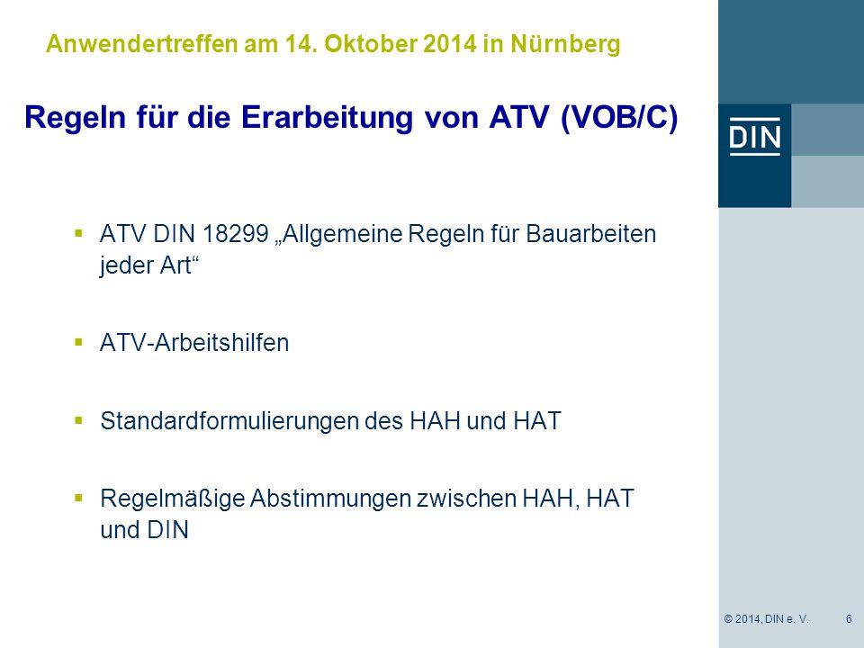 Anwendertreffen am 14. Oktober 2014 in Nürnberg