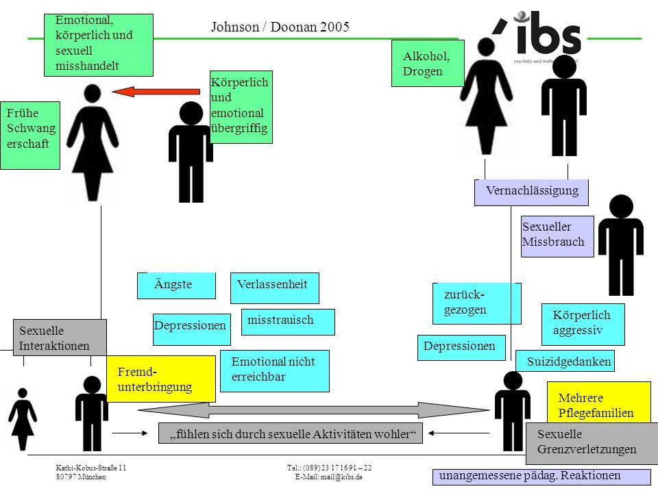 Johnson / Doonan 2005 Emotional, körperlich und sexuell misshandelt