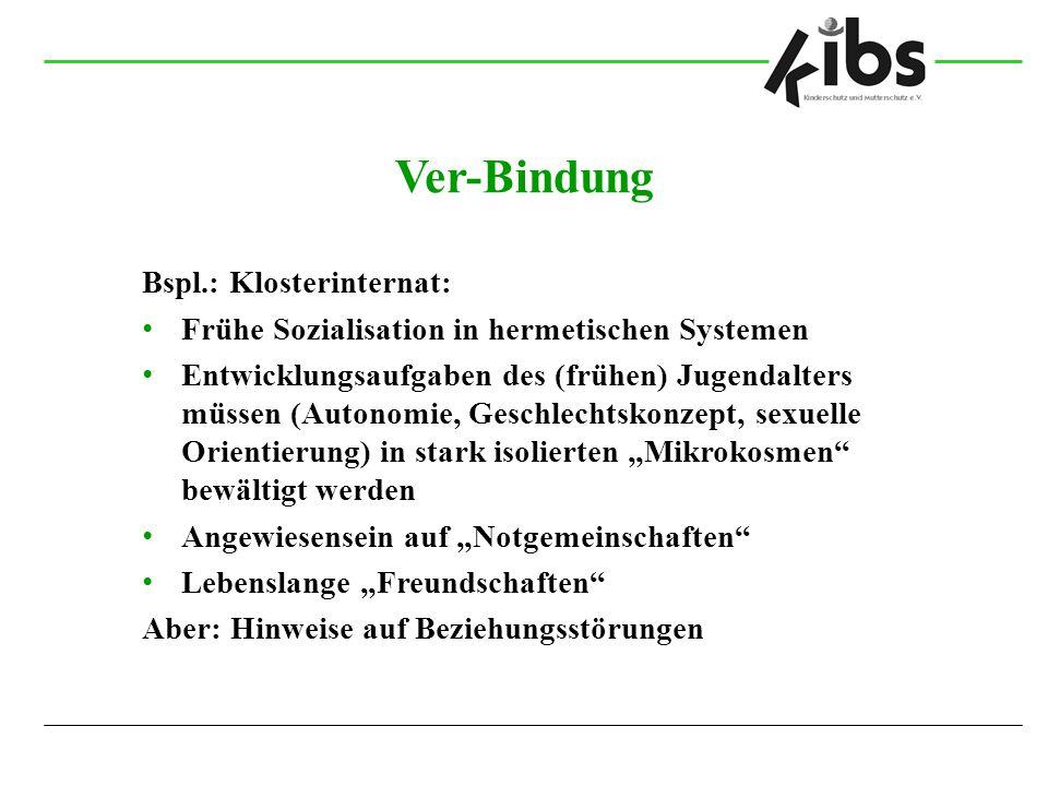 Ver-Bindung Bspl.: Klosterinternat: