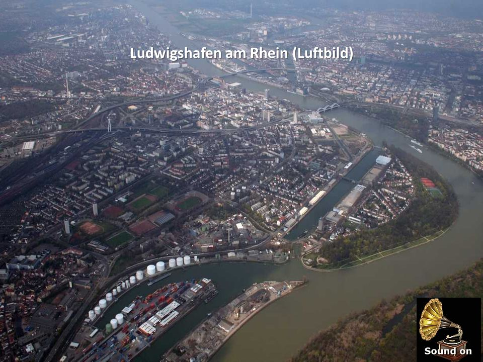 Ludwigshafen am Rhein (Luftbild)