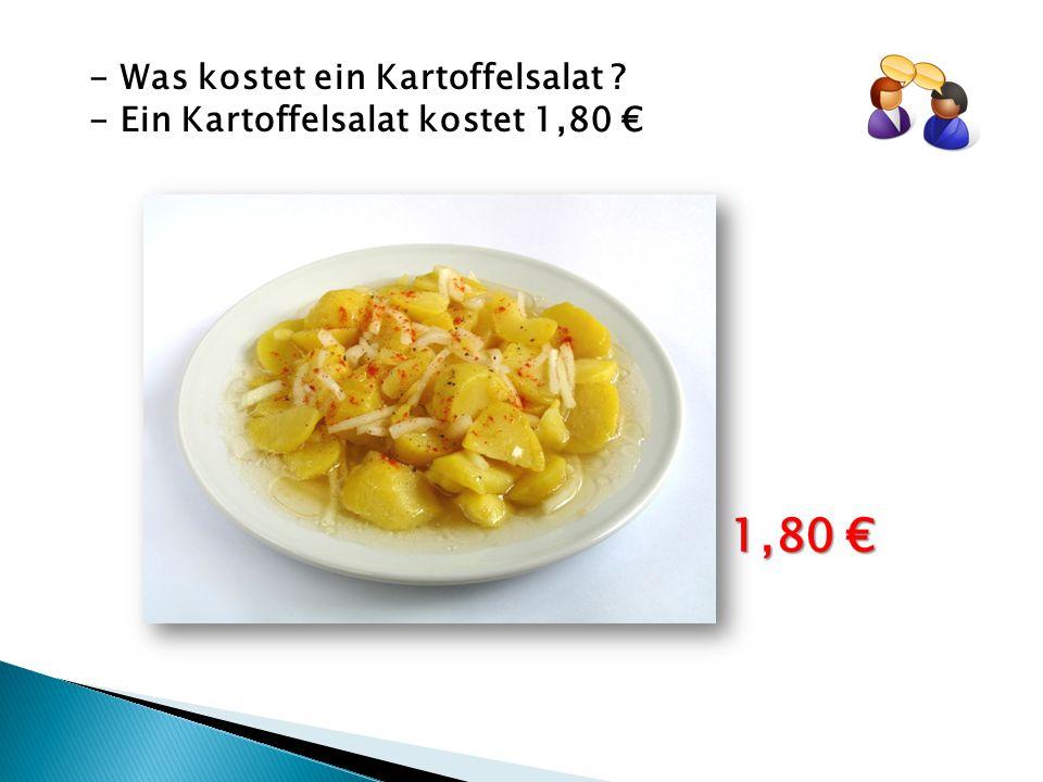1,80 € - Was kostet ein Kartoffelsalat