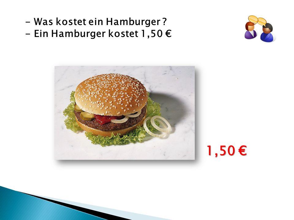 - Was kostet ein Hamburger