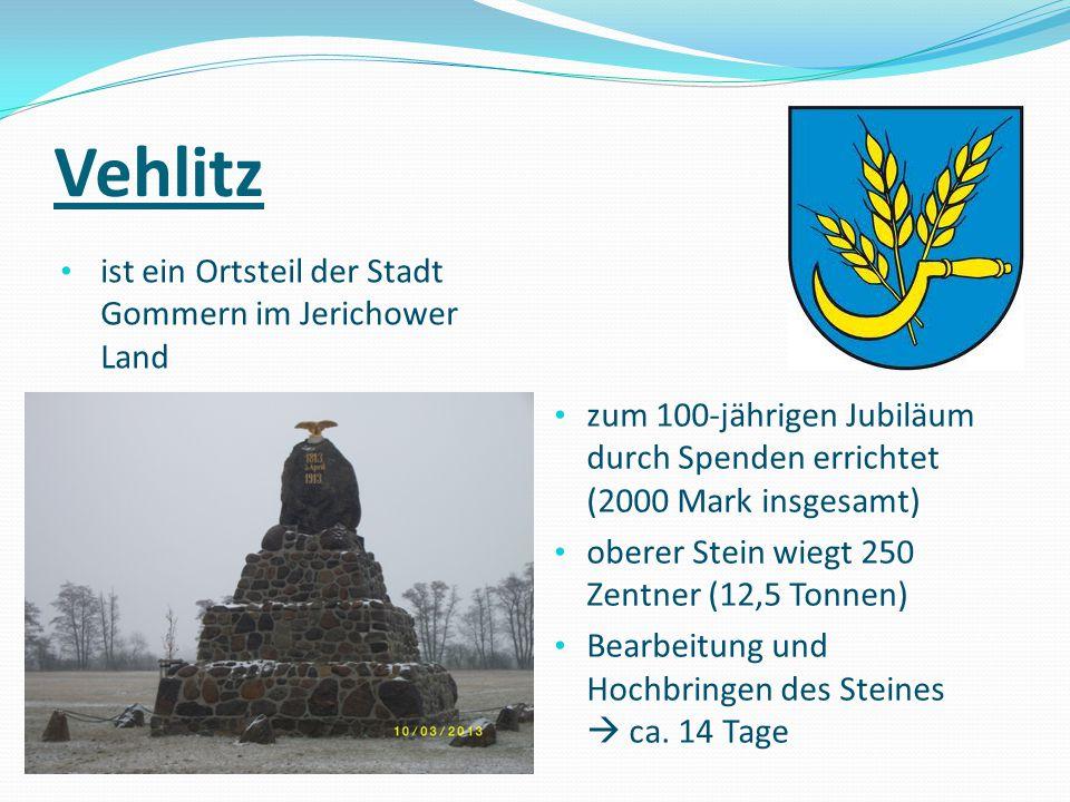 Vehlitz ist ein Ortsteil der Stadt Gommern im Jerichower Land