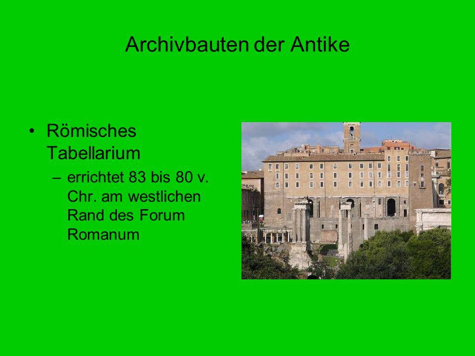 Archivbauten der Antike