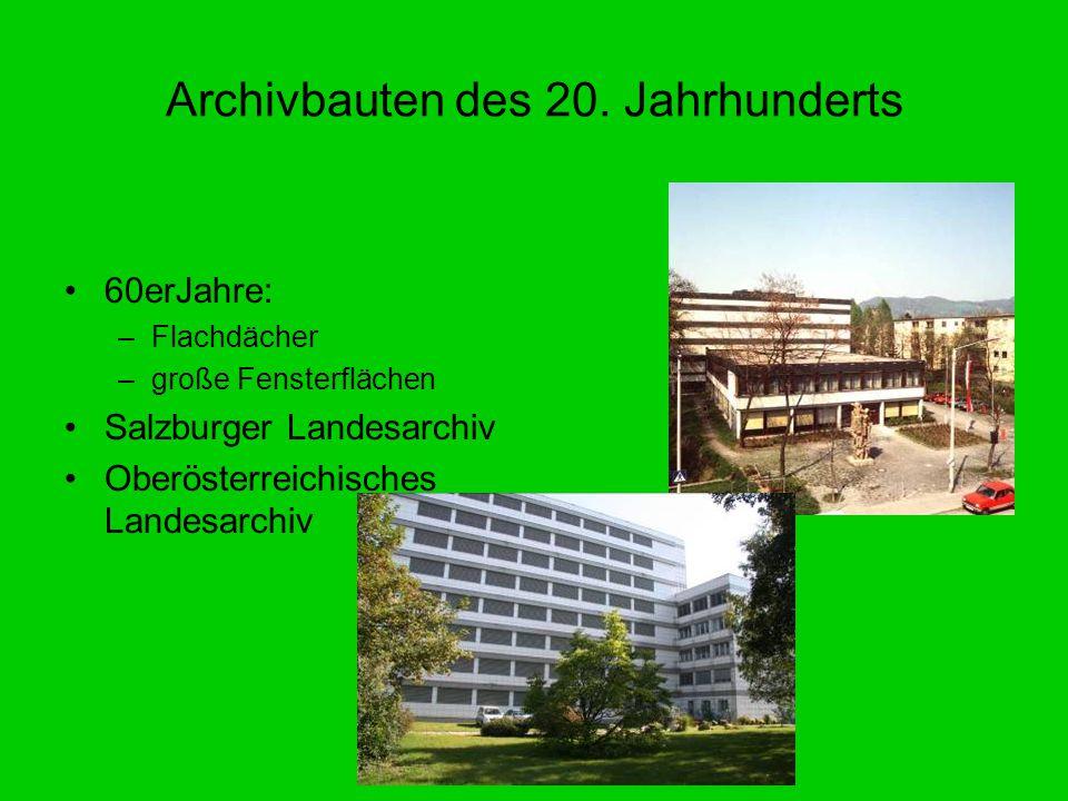 Archivbauten des 20. Jahrhunderts