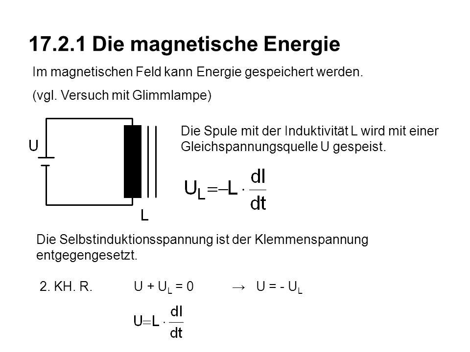 17.2.1 Die magnetische Energie