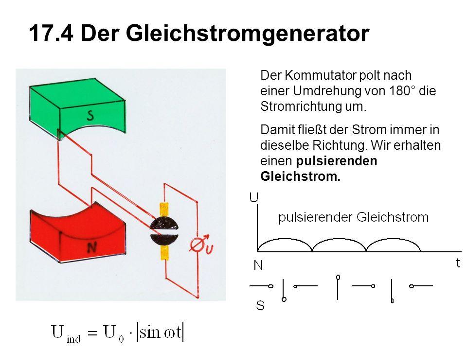 17.4 Der Gleichstromgenerator