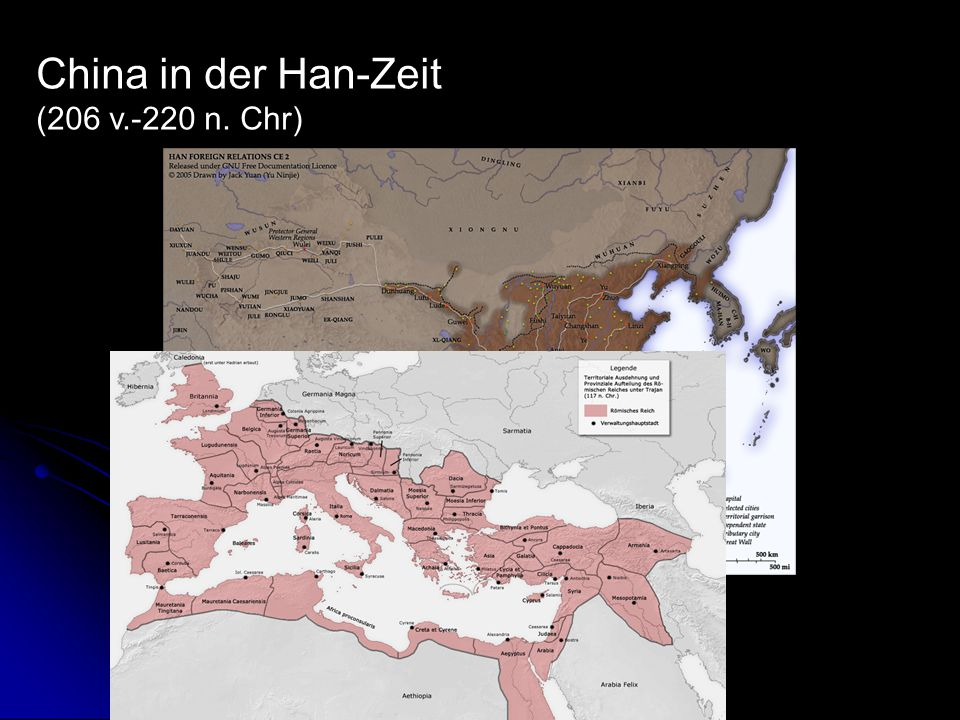 China in der Han-Zeit (206 v.-220 n. Chr)