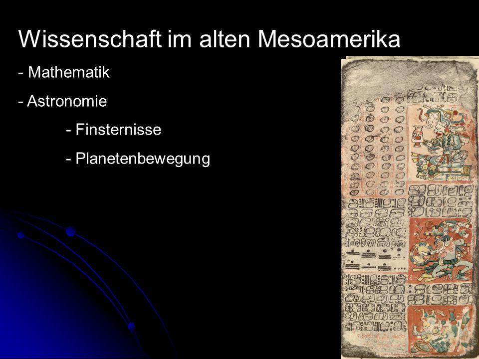 Wissenschaft im alten Mesoamerika