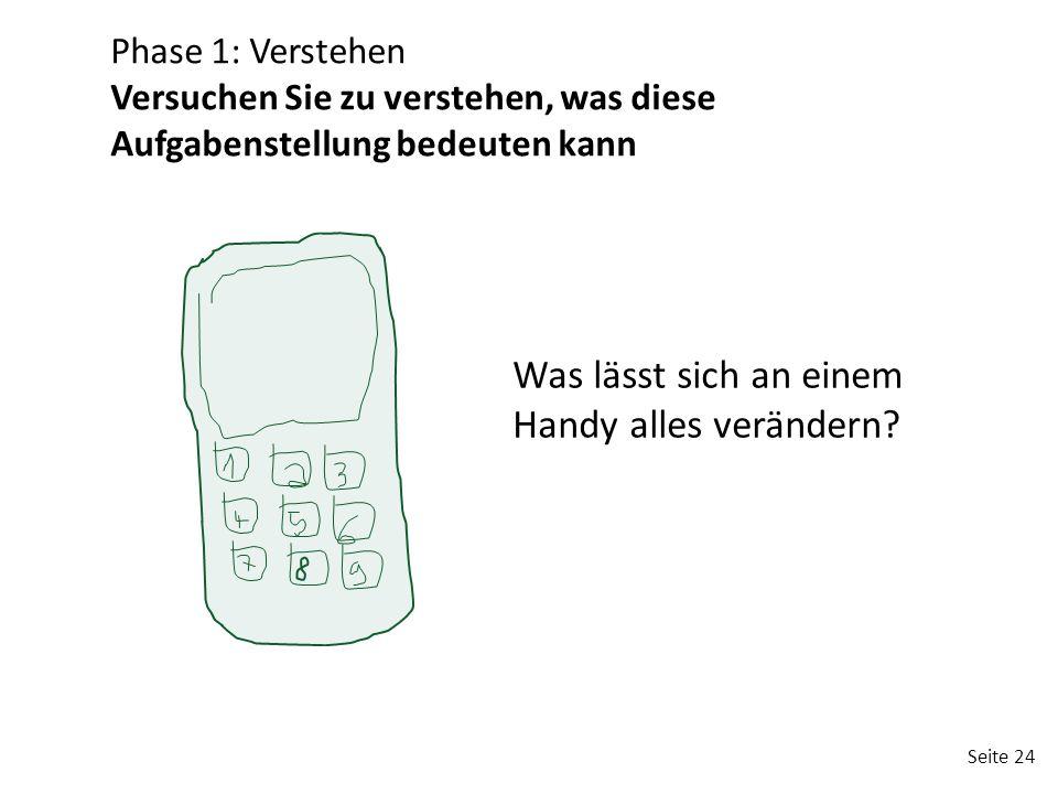 Was lässt sich an einem Handy alles verändern