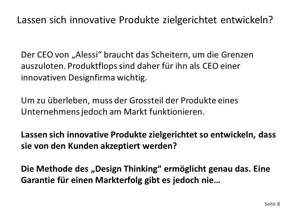 Lassen sich innovative Produkte zielgerichtet entwickeln