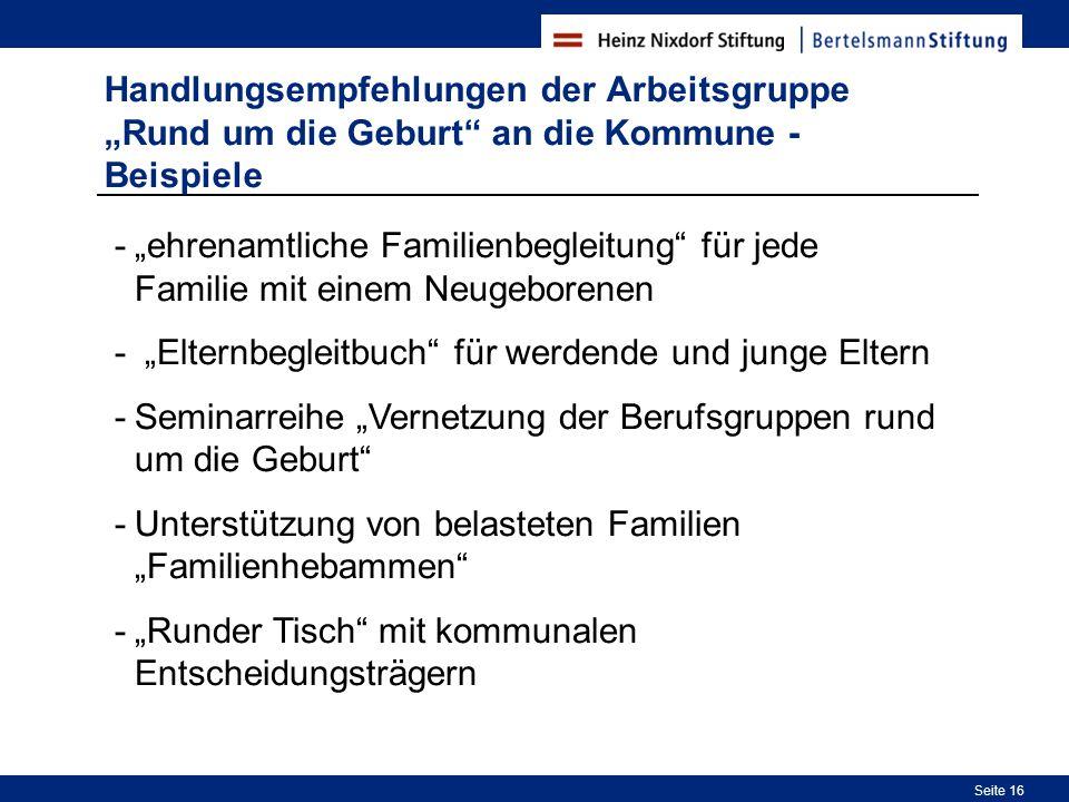 """""""Elternbegleitbuch für werdende und junge Eltern"""