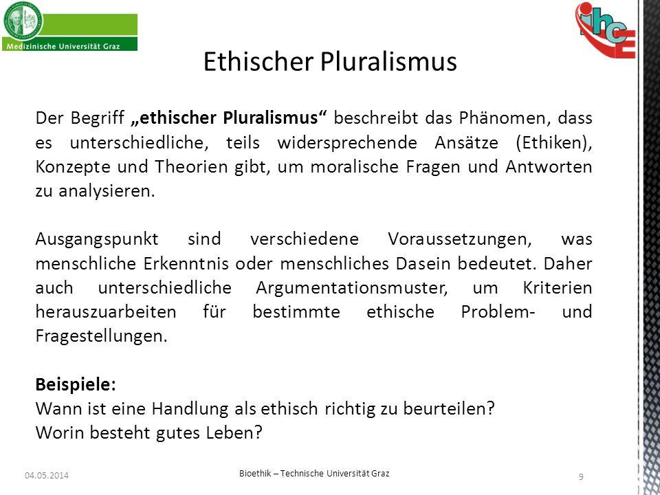 Ethischer Pluralismus