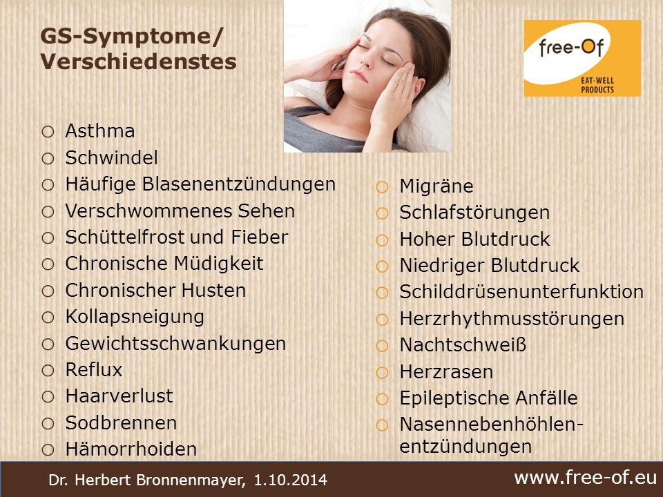 GS-Symptome/ Verschiedenstes