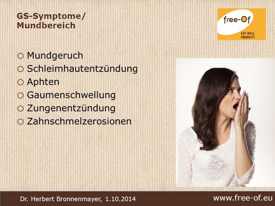 GS-Symptome/ Mundbereich
